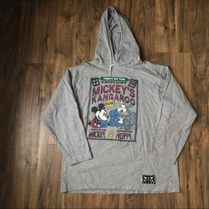 Disney Mickey's Kangaroo Hooded Long Sleeve XL